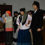 レイリア市の晩餐会では民族衣装のダンスが披露されました。  ・伝統のダンスも見たる秋の旅(和良)