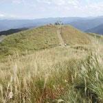 塩塚高原の頂上に登りました。邯鄲がよく鳴く日でした。 ・邯鄲や高原の空澄み渡る (和良)