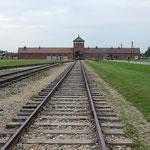 ビルケナウ強制収容所はさらに大きい殺人工場となりました。     ・アンネゐし監獄の跡をみなへし(和良)