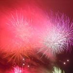 今年の弁天島花火大会は50年の歴史に幕を閉じる最後の大会となりました。       ・揚げ花火この世の憂さを払ひけり(和良)
