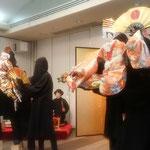 徳島市に駐ポルトガルの日本大使をお迎えして昼食会が開かれました。  ・春昼の宴大使をお迎へし(和良)