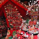 勝浦町の第16回ビッグひな祭りを見てきました。 ・町中の雛が雛呼び雛の壇(和良)