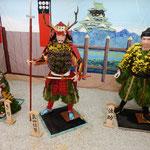 大河ドラマの名場面を切り取ったかのような菊人形の展示でした。       ・名場面かくの如しと菊人形(和良)