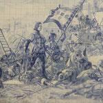 ジョルジェ・コラコのアズレージョには歴史が描かれていました。  ・秋の旅タイルの描く歴史も見(和良)