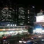 品川駅高輪口の夜景です。高層ビルに灯が点き綺麗でした。      ・温かみある明るさの冬灯(和良)