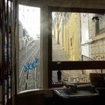 ケーブルカーに乗って高台にあるモラエスの生家を訪ねました。 ・坂上がり秋の風吹く高台へ(和良)