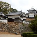 天空の城と言われる高梁市の備中松山城に登りました。           ・天空の天守涼しき風通る(和良)