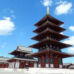 日本伝統俳句協会の全国大会が大阪であり四天王寺を吟行しました。 ・新涼の日本最古の寺静か(和良)