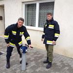 Überprüfen der Hydranten