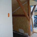 Zukünftiger Platz der Sauna, vorher...