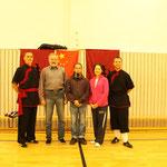 Wushu DWF Lehrgang mit Meisterin Zhuo Yingxia in Plauen 29.10.2011