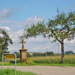 über Land im Schwäbischen