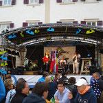 offizielle Eröffnung auf dem Stadtplatz
