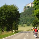 Weiterfahrt am nächsten Tag durchs Donautal