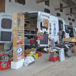 Teilemarkt und Fan-Shop