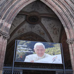 Vorbereitungen für den Papstbesuch