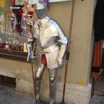 Rothenburg - überall begegnet man dem Mittelalter...