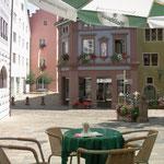 Engen, Marktplatz vor Mäders Café