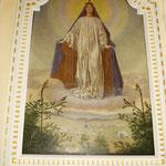 Pfarrkirche von Bernau, Altarbilder von Hans Thoma