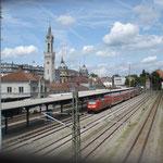 Konstanz, Bahnhof