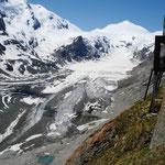 der Gletscher des Großglockner (geht leider auch immer weiter zurück!)