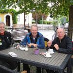 Heimfahrt, Mittagspause in Emmendingen