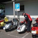 """""""Parkieren"""" in Stein am Rhein"""