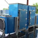 食品プラント用空調機