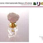 """3° premio sezione BIJOUX D'AUTORE: Francesca Gabrielli con """"POMELLO ROSA"""""""
