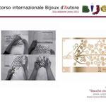 """1° premio BIJOUX D'AUTORE sezione Progettazione: Cosimo Vinci con """"BACCHE SNAP-OFF 2011"""""""