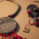 Eco bijoux, Caracol di Eleonora Battaggia. Espositrice al Vanita's Market. Foto di MKZphoto.com