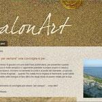 """Fossalonart: dal blog """"Fossalonart"""" di Alberto, un'impaginazione che richiama i materiali usati  da questo artista per realizzare i suoi monili."""