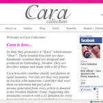 L'ecommerce di Cara Collection