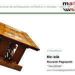Vincitore del Concorso Materie 2011 è Riciclò di Riccardo Pagnanelli