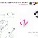 """2° premio BIJOUX D'AUTORE sezione Progettazione: Elviro di Meo e Antonio Rossetti con """"INDOSSAMI"""""""