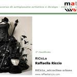 Seconda classificata al concorso Materie 2011 è Raffaella Riccio (RiCicLo)