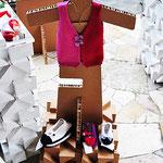 Gingetti maglieria e giochi di lana. RiQù - l'arte sul filo. Mantova. Sartoria Artistica