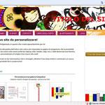 Esempio di personalizzazione del sito e-commerce gratuito comprensivo di blog. Tutto da personalizzare e gestire autonomamente! GLI ARTIGIANAUTI