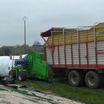 Mise en route de silo-presse à St-Brieuc (22)