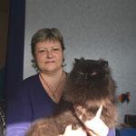 """Ангелова Элла - владелец питомника персидских и экзотических кошек """"SHIGELAN"""""""