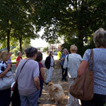 Bordesholmer LandFrauen, Skulpturenführung in Bissee im September 2021