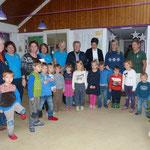 Bordesholmer Landfrauen, Spendenübergabe für den Kindergarten in Bordesholm im Dezember 2016