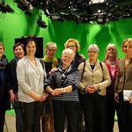 Bordesholmer Landfrauen beim NDR in Kiel im März 2017
