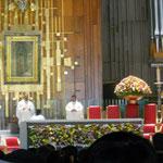 basílica de Guadalupe Misa inaugural del Congreso de María Niña