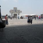 basílica de Guadalupe antes del evento