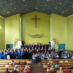 2005 Chorfahrt in die Partnerstadt Spijkenisse Konzert