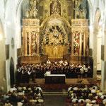 1998 Chorreise in die Partnerstadt Argelès sur Mer