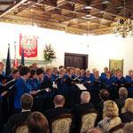 2008 Auftritt des Chors im Konsulat anlässlich des Gegenbesuchs des Chors Echo aus Polen