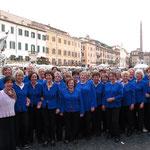 2013 Gruppenbild auf der Piazza Navona, Rom