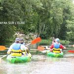 Plusieurs bases de Canoë-Kayak le long de l'Eure, à 8km du Gîte
